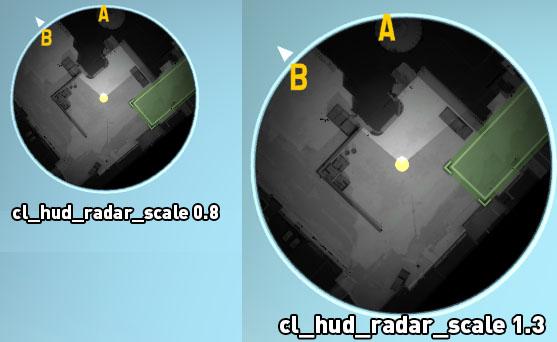radar wielkosc HUD