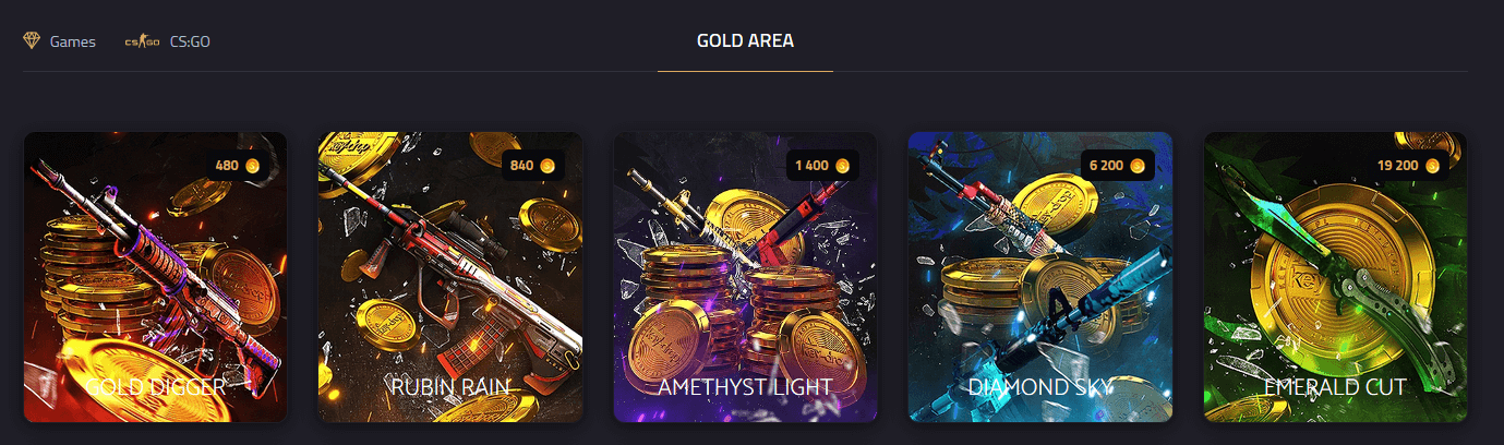keydrop złoto